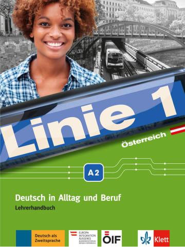 Cover Linie 1 Österreich A2 978-3-12-607151-2 Deutsch als Zweitsprache (DaZ)