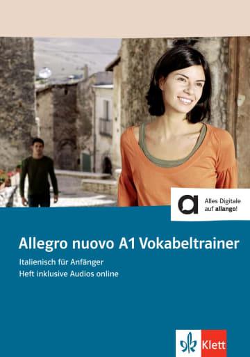 Cover Allegro nuovo A1 Vokabeltrainer 978-3-12-525579-1 Italienisch
