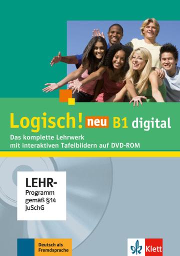 Cover Logisch! neu B1 978-3-12-605230-6 Deutsch als Fremdsprache (DaF),Deutsch als Zweitsprache (DaZ)