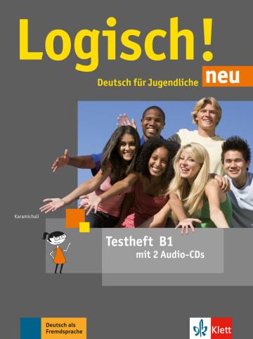 Cover Logisch! neu B1 978-3-12-605229-0 Deutsch als Fremdsprache (DaF),Deutsch als Zweitsprache (DaZ)