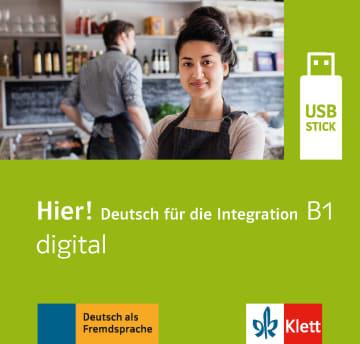 Cover Hier! B1 digital 978-3-12-676698-2 Deutsch als Fremdsprache (DaF)