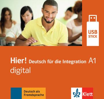 Cover Hier! A1 digital 978-3-12-676696-8 Deutsch als Fremdsprache (DaF)