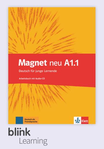 Cover Magnet neu A1.1 - Digitale Ausgabe mit LMS NP00867608101 Deutsch als Fremdsprache (DaF)