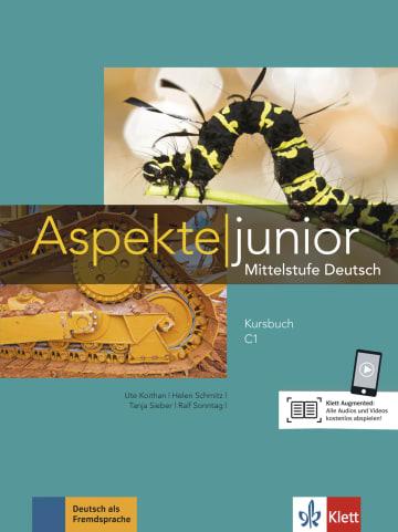 Cover Aspekte junior C1 978-3-12-605258-0 Deutsch als Fremdsprache (DaF),Deutsch als Zweitsprache (DaZ)