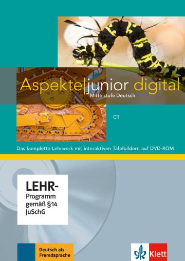 Cover Aspekte junior C1 978-3-12-605264-1 Deutsch als Fremdsprache (DaF),Deutsch als Zweitsprache (DaZ)