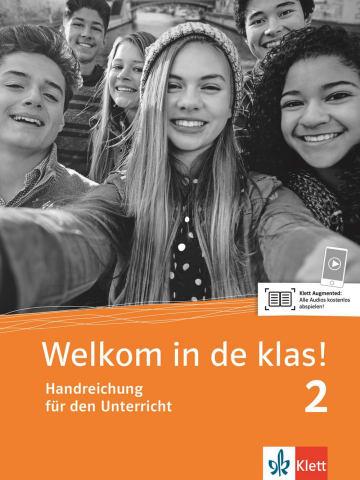 Cover Welkom in de klas! 2 (A2) 978-3-12-528981-9 Niederländisch