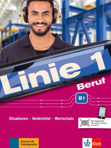 Cover Linie 1 Beruf B1 978-3-12-607103-1 Deutsch als Fremdsprache (DaF),Deutsch als Zweitsprache (DaZ)