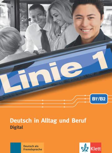 Cover Linie 1 B1+/B2 digital 978-3-12-607113-0 Deutsch als Fremdsprache (DaF),Deutsch als Zweitsprache (DaZ)