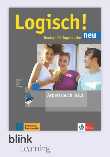 Cover Logisch! neu A2.1 - Digitale Ausgabe mit LMS NP00860521401 Deutsch als Fremdsprache (DaF),Deutsch als Zweitsprache (DaZ)