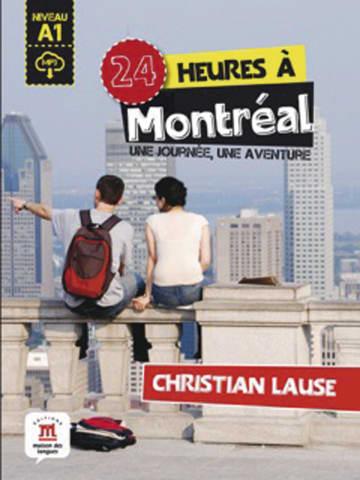 Cover 24 heures à Montréal 978-3-12-529469-1 Christian Lause Französisch