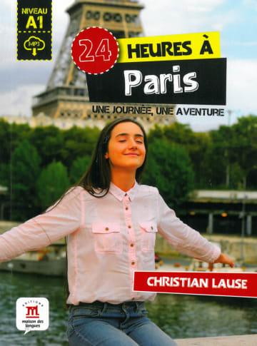 Cover 24 heures à Paris 978-3-12-529459-2 Christian Lause Französisch