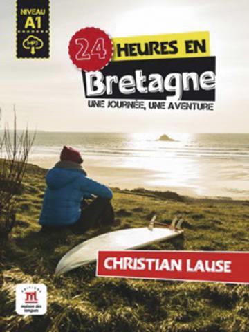 Cover 24 heures en Bretagne 978-3-12-529479-0 Christian Lause Französisch