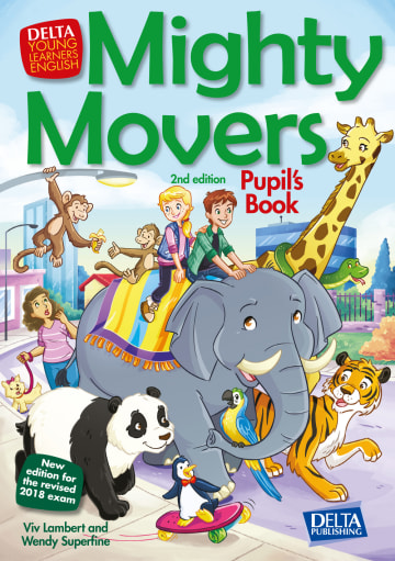 Cover Mighty Movers 2nd edition 978-3-12-501395-7 Englisch