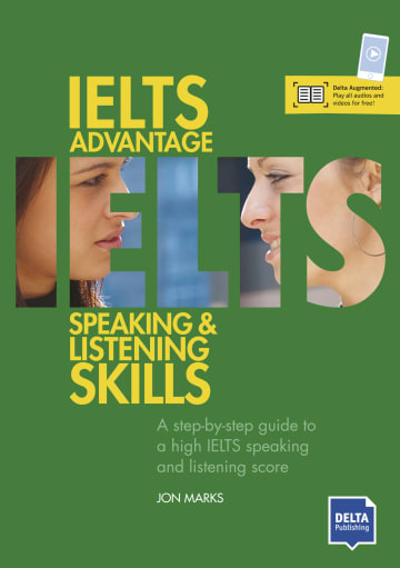 Cover IELTS Advantage Speaking and Listening Skills 978-3-12-501575-3 Englisch