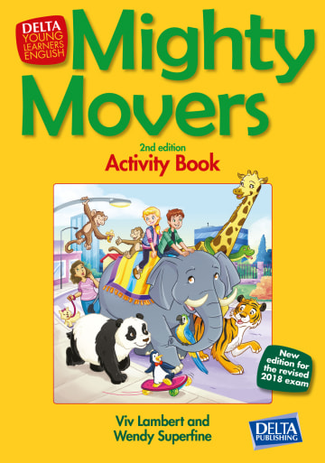 Cover Mighty Movers 2nd edition 978-3-12-501396-4 Englisch