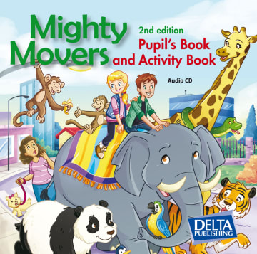 Cover Mighty Movers 978-3-12-501397-1 Englisch
