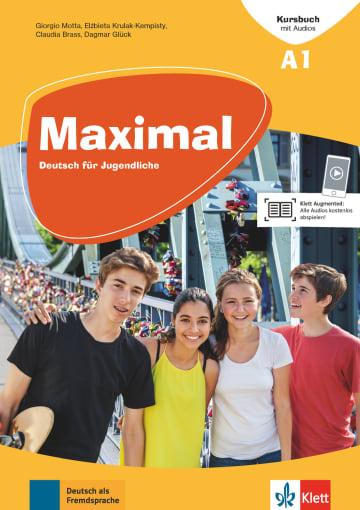 Cover Maximal A1 978-3-12-676740-8 Deutsch als Fremdsprache (DaF)