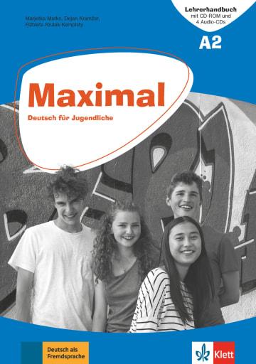 Cover Maximal A2 978-3-12-676748-4 Deutsch als Fremdsprache (DaF)