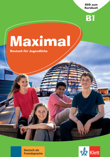 Cover Maximal B1 978-3-12-676754-5 Deutsch als Fremdsprache (DaF)