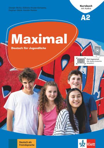 Cover Maximal A2 978-3-12-676745-3 Deutsch als Fremdsprache (DaF)