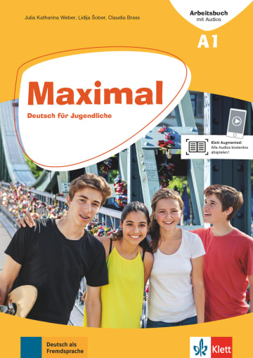 Cover Maximal A1 978-3-12-676741-5 Deutsch als Fremdsprache (DaF)