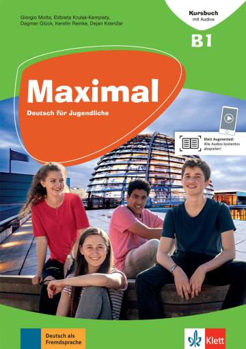 Cover Maximal B1 978-3-12-676750-7 Deutsch als Fremdsprache (DaF)