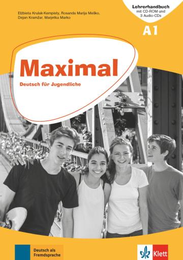 Cover Maximal A1 978-3-12-676743-9 Deutsch als Fremdsprache (DaF)