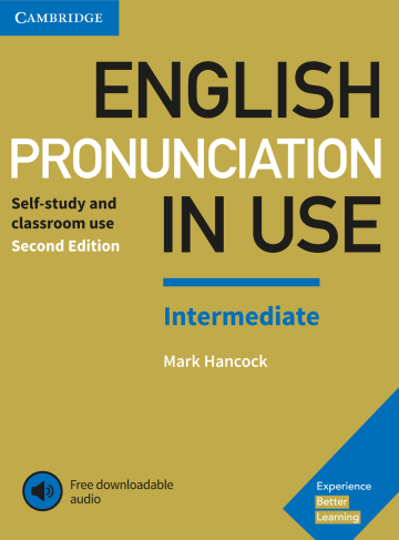 Cover English Pronunciation in Use Intermediate 978-3-12-539703-3 Englisch