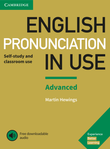 Cover English Pronunciation in Use Advanced 978-3-12-539707-1 Englisch