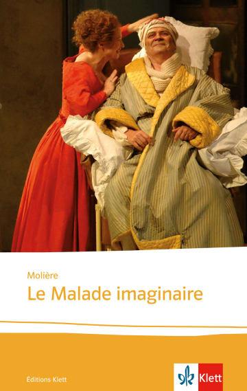 Cover Le Malade imaginaire 978-3-12-597488-3 Molière Französisch