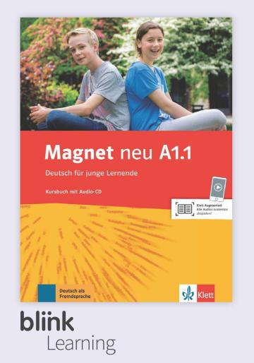 Cover Magnet neu A1.1 - Digitale Ausgabe mit LMS NP00867608001 Deutsch als Fremdsprache (DaF)