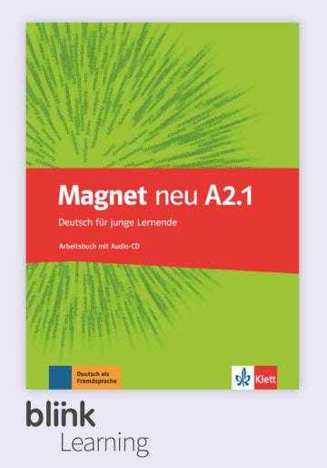 Cover Magnet neu A2.1 - Digitale Ausgabe mit LMS NP00867608601 Deutsch als Fremdsprache (DaF)