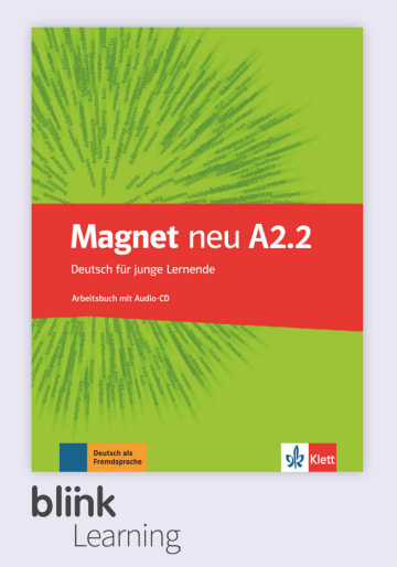 Cover Magnet neu A2.2 - Digitale Ausgabe mit LMS NP00867608602 Deutsch als Fremdsprache (DaF)