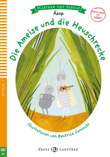 Cover Die Ameise und die Heuschrecke 978-3-12-515132-1 Äsop Deutsch als Zweitsprache (DaZ)