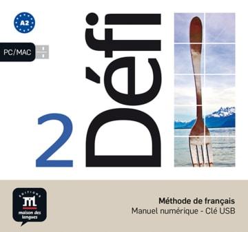 Cover Défi 2 (A2) 978-3-12-529698-5 Französisch