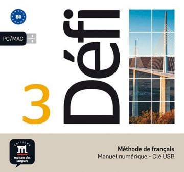 Cover Défi 3 (B1) 978-3-12-529701-2 Französisch