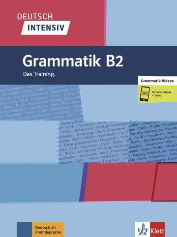 Cover Deutsch intensiv Grammatik B2 978-3-12-675037-0 Deutsch als Fremdsprache (DaF)