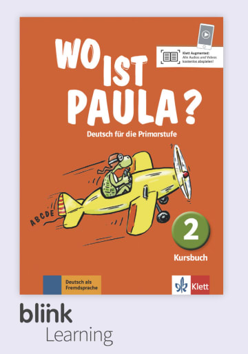 Cover Wo ist Paula? 2, versión digital NP00860528201 Deutsch als Fremdsprache (DaF)