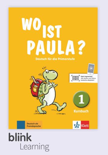 Cover Wo ist Paula? 1, versión digital NP00860528001 Deutsch als Fremdsprache (DaF)