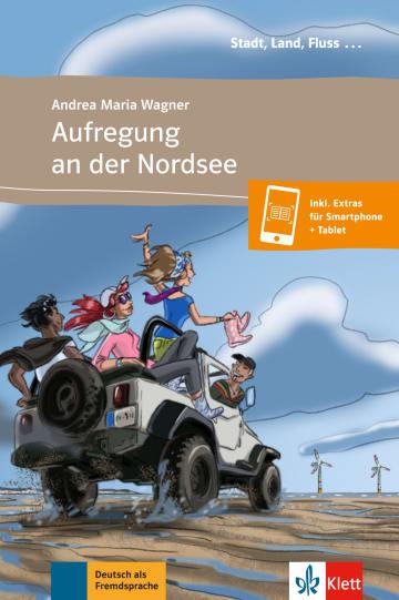 Cover Aufregung an der Nordsee 978-3-12-557014-6 Andrea Maria Wagner Deutsch als Fremdsprache (DaF)