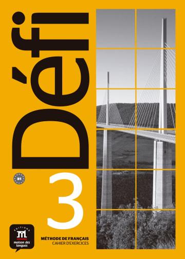 Cover Défi 3 (B1) 978-3-12-529708-1 Französisch