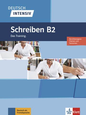 Cover Deutsch intensiv Schreiben B2 978-3-12-675044-8 Deutsch als Fremdsprache (DaF)