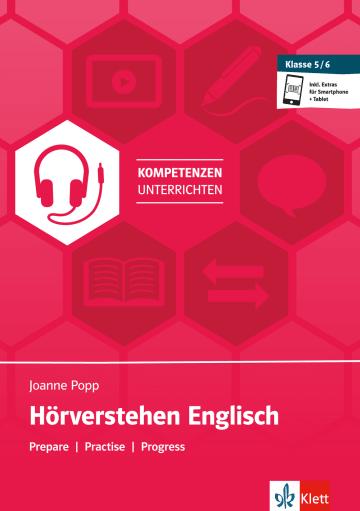 Cover Hörverstehen Englisch Klasse 5 und 6 978-3-12-506641-0 Englisch