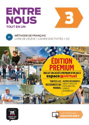 Cover Entre nous 3 (B1) 978-3-12-530283-9 Französisch
