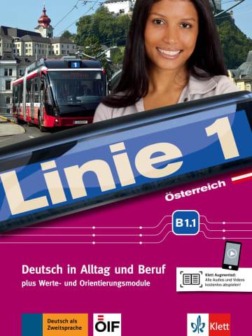 Cover Linie 1 Österreich B1.1 978-3-12-607044-7 Deutsch als Zweitsprache (DaZ)