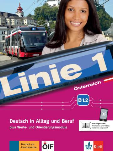 Cover Linie 1 Österreich B1.2 978-3-12-607045-4 Deutsch als Zweitsprache (DaZ)