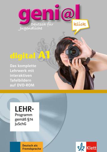 Cover geni@l klick A1 978-3-12-605062-3 Deutsch als Fremdsprache (DaF),Deutsch als Zweitsprache (DaZ)