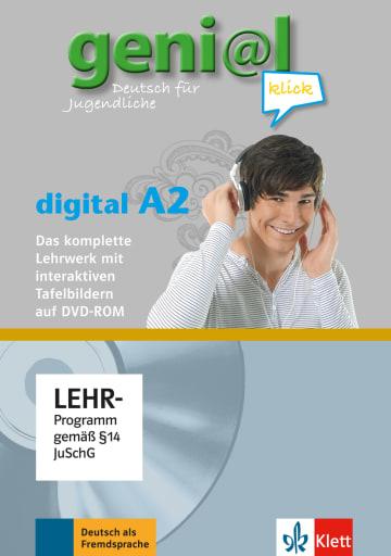 Cover geni@l klick A2 978-3-12-605063-0 Deutsch als Fremdsprache (DaF),Deutsch als Zweitsprache (DaZ)