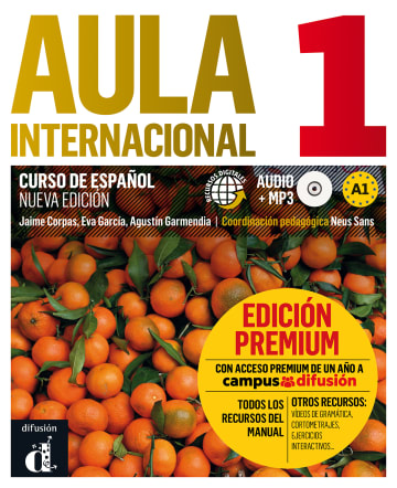 Cover Aula internacional nueva edición 1 (A1) 978-3-12-515790-3 Spanisch