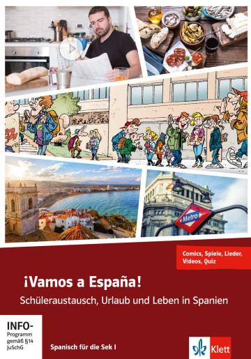 Cover ¡Vamos a España! 978-3-12-526824-1 Spanisch